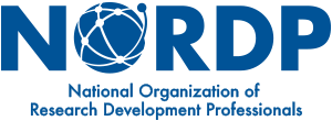 NORDP logo: National Organization of Research Development Professionals