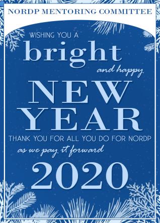 NORDP 2019 Holiday card